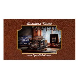 Writer - Typewriter - The aspiring writer Business Card
