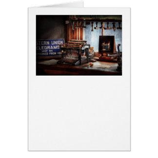 Writer - Typewriter - The aspiring writer Card