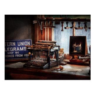 Writer - Typewriter - The aspiring writer Postcard