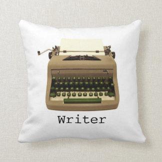 Writer Typewriter Throw Pillow
