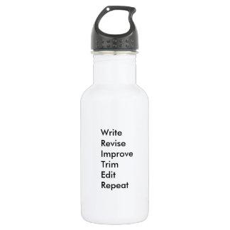 WRITER Waterbottle Stainless Steel Water Bottle