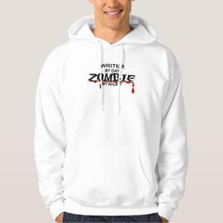 Writer Zombie Hooded Sweatshirt