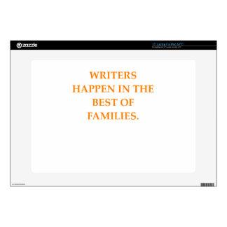"WRITERS 15"" LAPTOP DECALS"