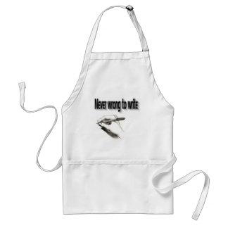 Writer's apron