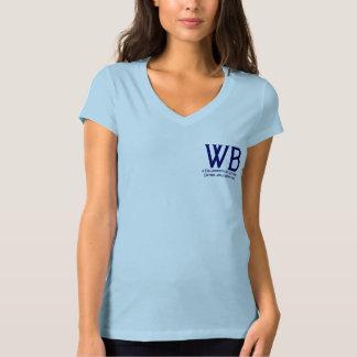 Writers Bloc Womens V-Neck Tee Shirt