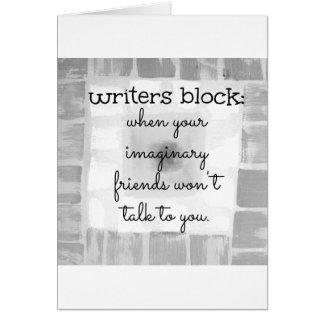 Writers Block Cards