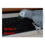 Writer's Block Greeting Cards