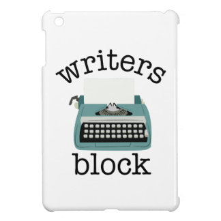 Writers Block iPad Mini Cover