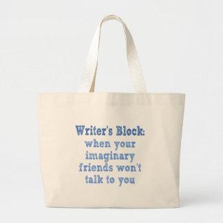 Writers Block: Large Tote Bag