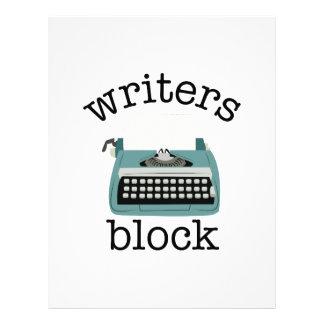 Writers Block Letterhead