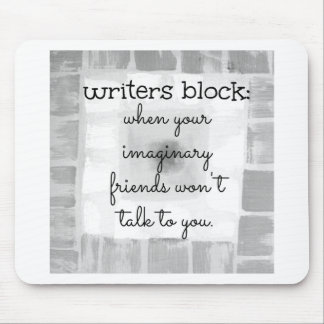 Writers Block Mouse Pad
