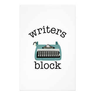 Writers Block Stationery Design