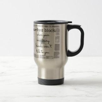 Writers Block Travel Mug
