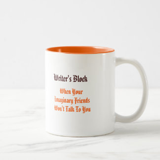 Writers Block - When Your.. | Funny Coffee/Tea Mug