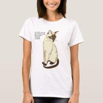 Writer's Cat Women's Shirt