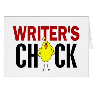 Writer's Chick Greeting Cards