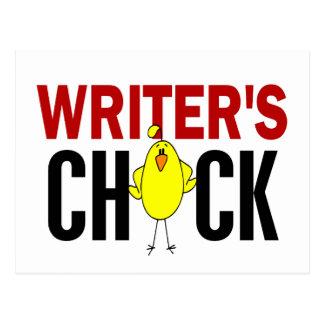 Writer's Chick Postcards