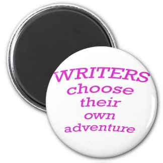 Writers Choose their own Adventure Magnets