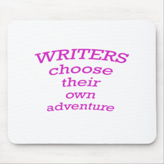 Writers Choose their own Adventure Mouse Pad