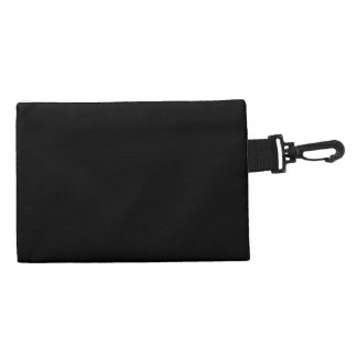 Writer's clip on accessory bag