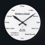 "Writer's Clock<br><div class=""desc"">Writing is a lonely business. When you"