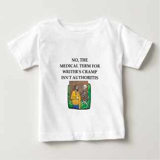 writer's cramp baby T-Shirt