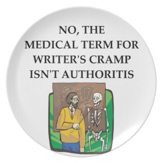 writer's cramp plates