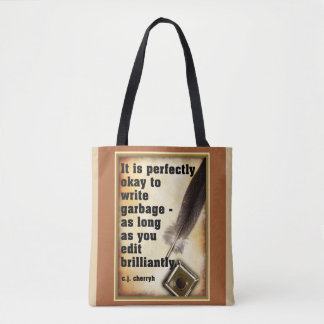 Writer's Edit Tote Bag