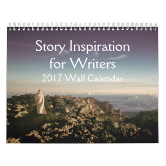 Writers Gifts Story Inspiration Pics Calendar 2017