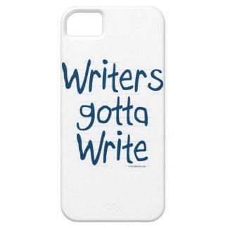 Writer's Gotta Write iPhone 5 Cases