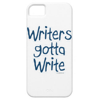 Writer's Gotta Write iPhone SE/5/5s Case