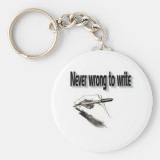 Writer's keychains