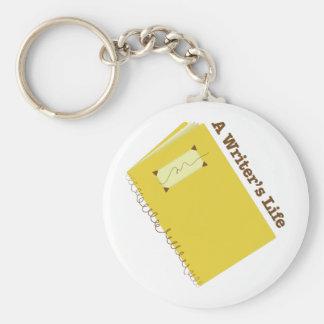 Writers Life Key Chain