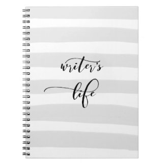 Writer's Life Notebook (80 Pages B&W)