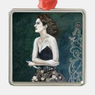 Writers Muse Premium Square Ornament