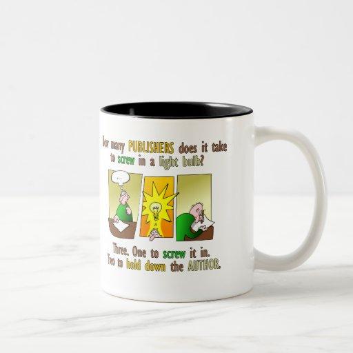 Writer's nightmare coffee mug