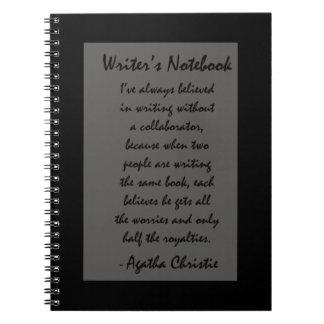 Writer's Notebook - Agatha Christie