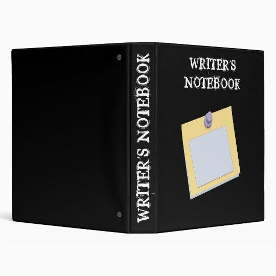 WRITER'S NOTEBOOK binder