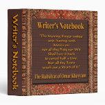 Writer's Notebook - Omar Khayyam Binder
