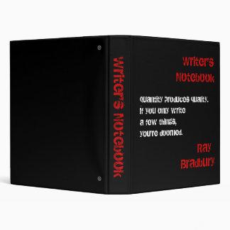 Writer's Notebook - Ray Bradbury Binder