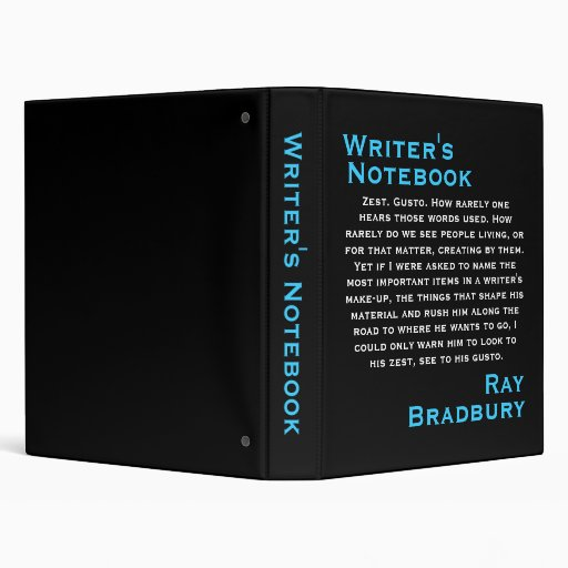 Writer's Notebook - Ray Bradbury II Binders