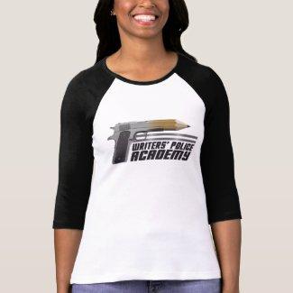 Writers' Police Academy 3/4 Sleeve T-Shirt