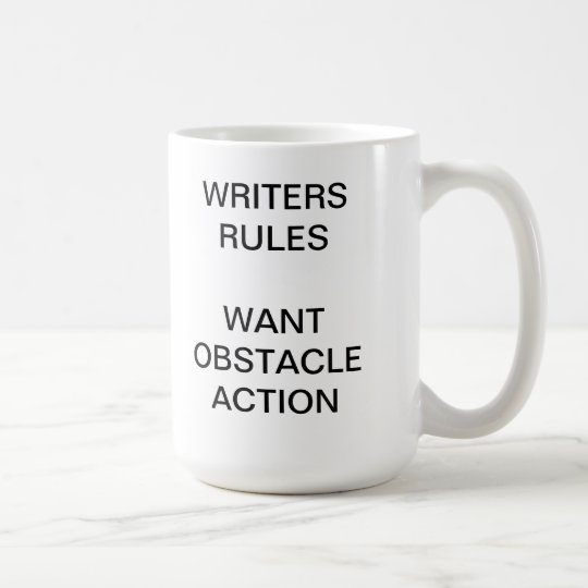 Writers Rules Coffee Mug
