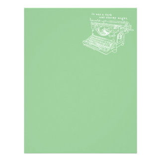 Writer's Stationary Letterhead