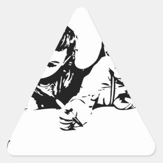 Writers Triangle Sticker