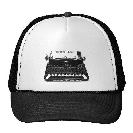 WRITERS WRITE TRUCKER HAT