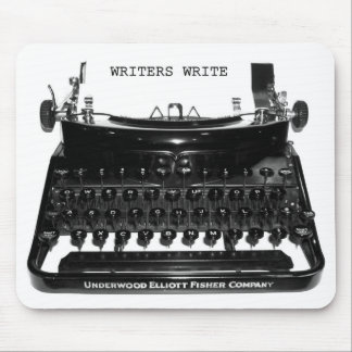 Writers Write Typewriter Mousepad