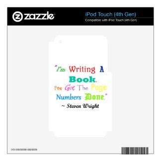 Writers Writers Everywhere iPod Touch 4G Skins