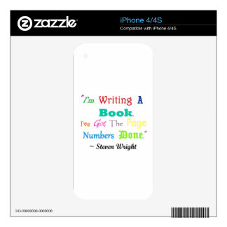 Writers Writers Everywhere Skins For iPhone 4S