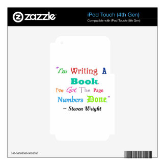Writers Writers Everywhere V.2 Decal For iPod Touch 4G